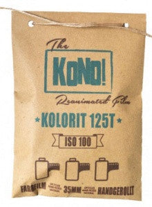 KOLORIT 125 Tungsten - 35mm, COLOR NEGATIVE FILM (3-pack)