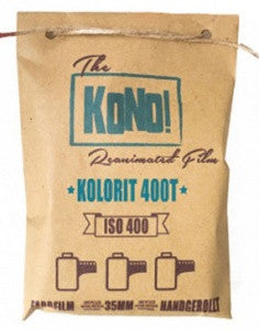 KOLORIT 400 Tungsten – 35mm, COLOR NEGATIVE FILM (3-pack) - KONO The Reanimated Film Analogue Photography Film