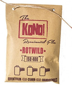 ROTWILD 400 – 35mm, EFFECT FILM (3-pack) - KONO The Reanimated Film Analogue Photography Film