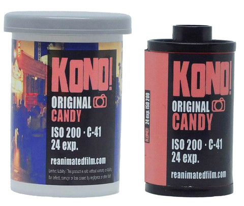 ORIGINAL CANDY - 35mm COLOR NEGATIVE FILM (1-pack)