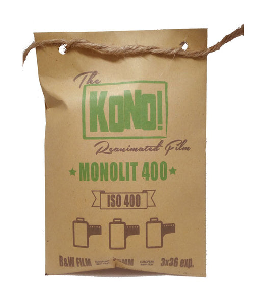 NEW! MONOLIT 400 – B&W FILM - 35mm (3-pack, 3x36 exp.)