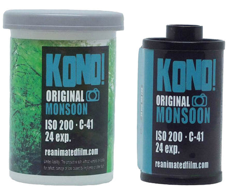 ORIGINAL MONSOON - 35mm COLOR NEGATIVE FILM (1-pack)