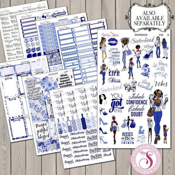 Complete Sorority Planner Journal Kit 8129