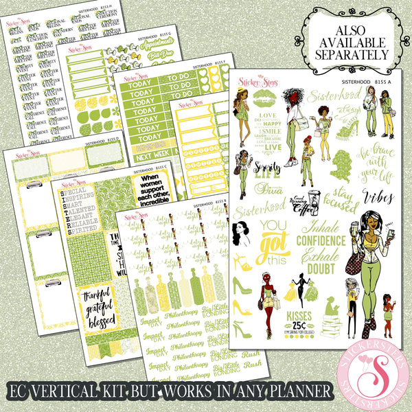 Complete Sorority Planner Journal Kit 8155