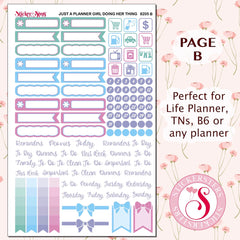 Just a Planner Girl