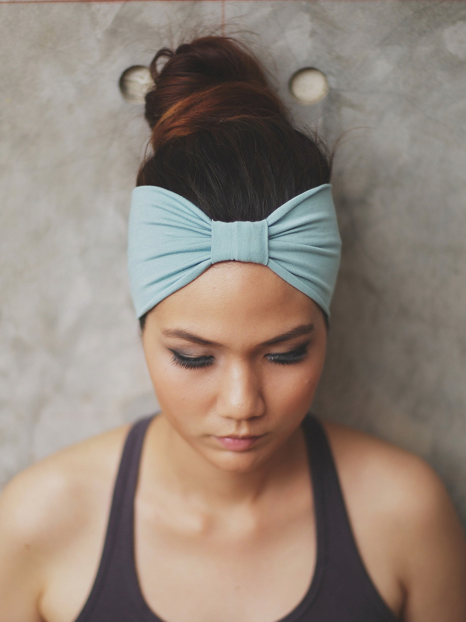 MINT   Top Knot Headband by Zizway 2971d6cc33c