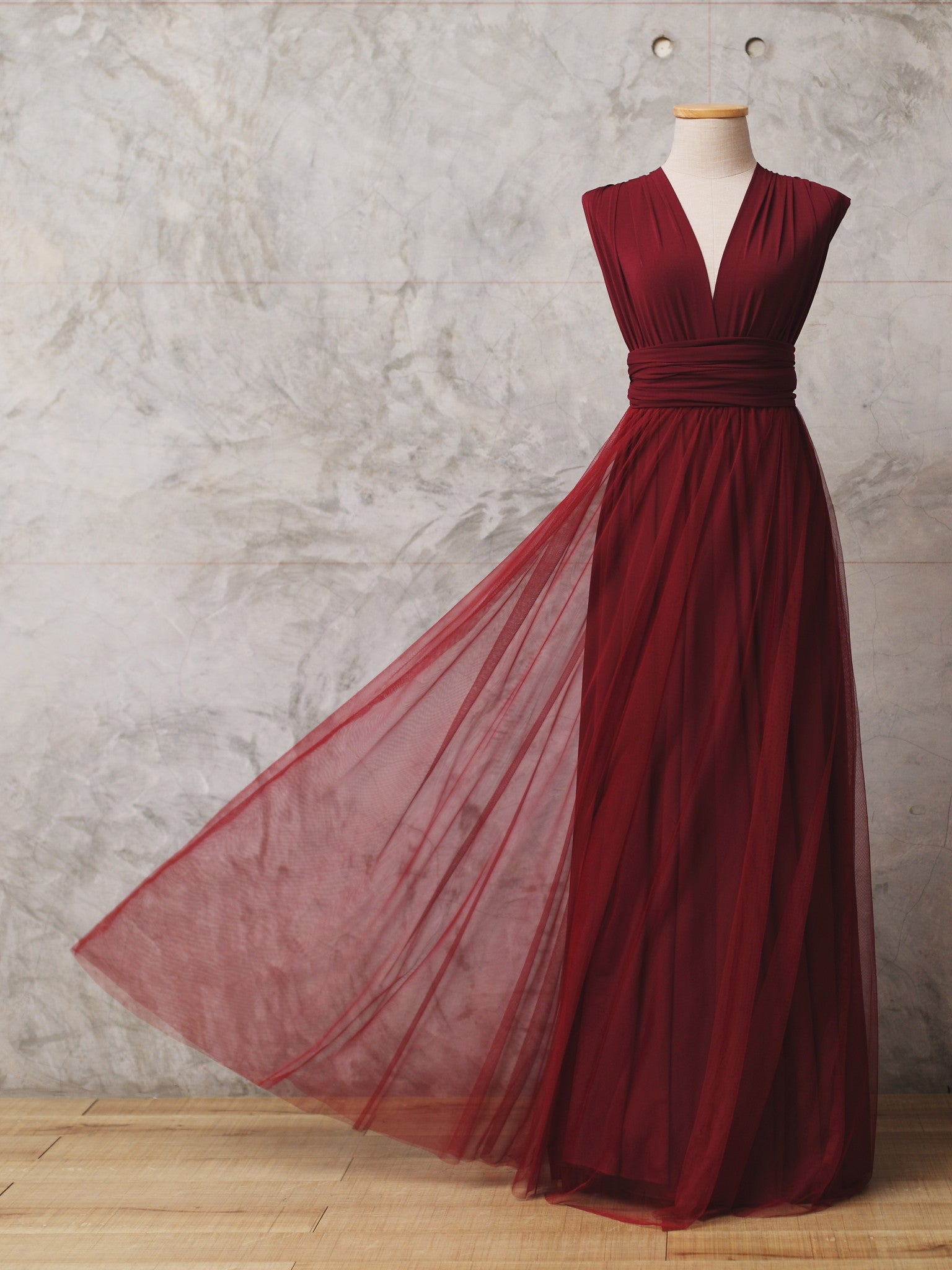 Cranberry Tulle