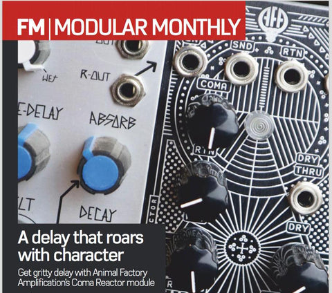 Coma Reactor Eurorack modular delay in Future Music Magazine