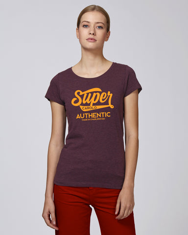 Super Carolo Authentic : T-shirt Femme
