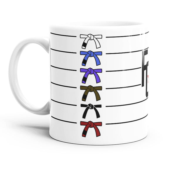 Belt Ranking 11oz Mug