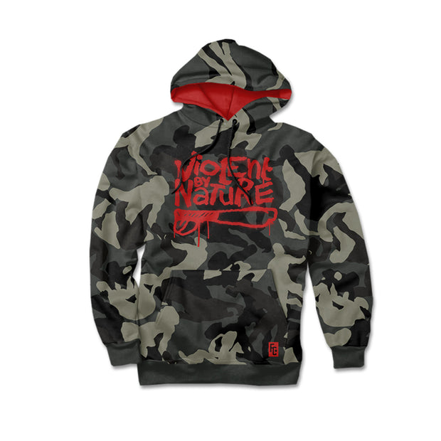 Violent By Nature CAMO Hoodie