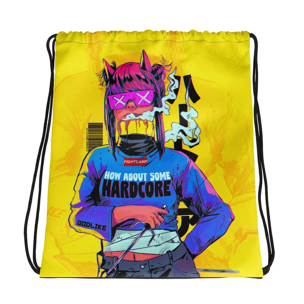 Hardcore Drawstring Bag