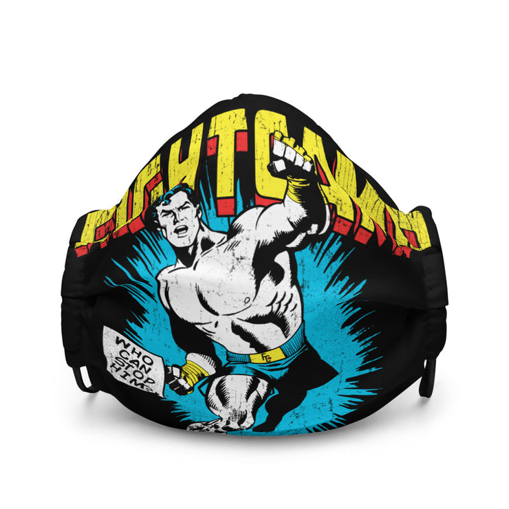 Superman Punch Mask
