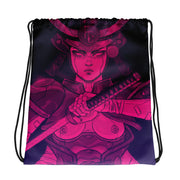 The Last Warrior Drawstring Bag