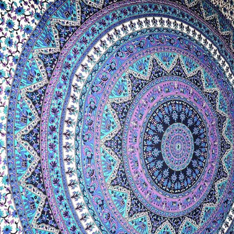 Indian Mandala Tapestry Care