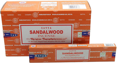 Satya Sai Baba Sandalwood Agarbatti Pack Each Hand Rolled Agarbatti Fine Quality Incense Sticks