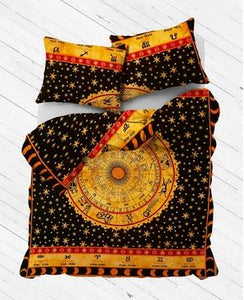 Zodiac Nights Duvet Cover