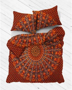 Desert Nights Mandala Duvet Cover