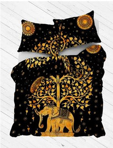 Elephant Daydreams Duvet Cover
