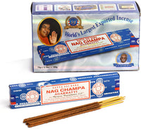 Satya Sai Baba Nag Champa Incense Sticks 12 Pack of 15grams