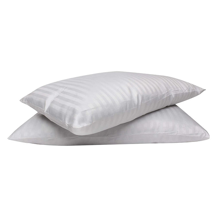 Luxury Home and Hotel Collection Pillow Set of 2 - Standard White
