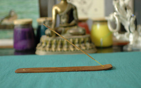 Set of 5 Handmade Incense Holders to Enhance Your Yoga, Meditation, Aromatherapy Relaxation Experience.