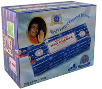 Satya Sai Baba Nag Champa Incense 1,000 Gram (4 packs of 250 gms)