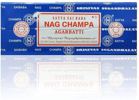 Satya Sai Baba Nag Champa Agarbatti Incense Sticks Box 250gms