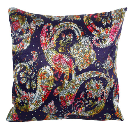 Bless International New-Multi-Color-Living- Decorative-Throw-Pillow-case Cushion-cover-16x16-inches(40x40CM)(Set of 5) (Ethnic Bohemian Colorful)
