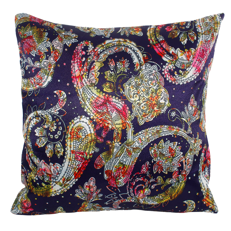 Ethnic Bohemian Colorful Pillow-case Cushion-cover-16x16-inch
