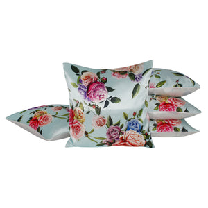 Multi Living Rose Pillow-case Cushion-cover-16x16-inch