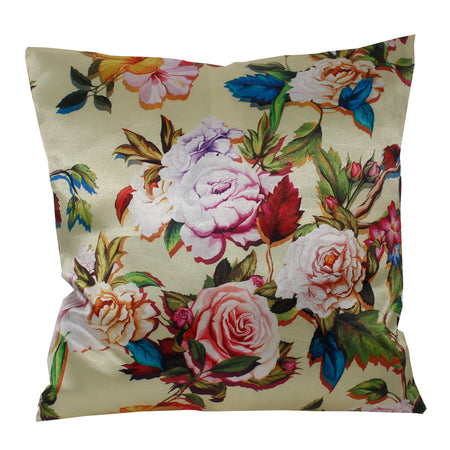 Flower Living Pillow-case Cushion-cover-16x16-inch