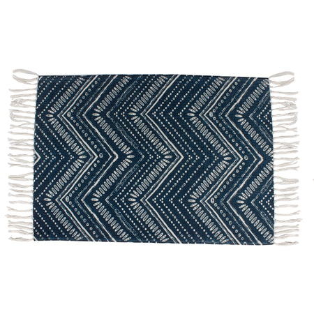 Geometric Ethnic Tribal Pattern Home and Kitchen Rug