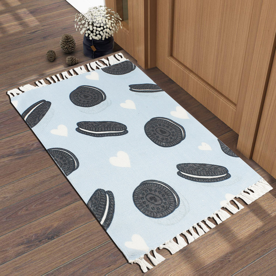 Delicious Cookies Love Chocolate  Home and Kitchen Rug