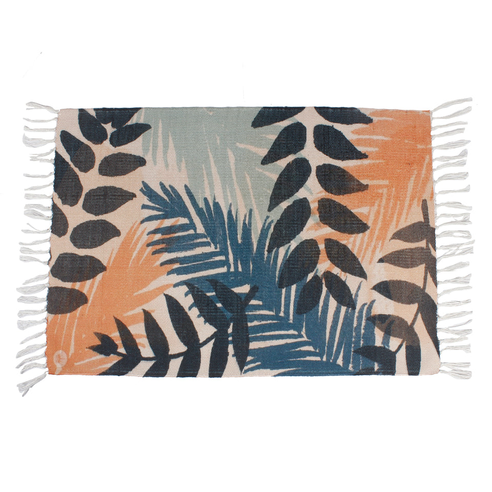 Tropical Vintage Palm  Home and Kitchen Rug