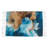 Rainbow Big Bang Crumpled Home and Kitchen Rug