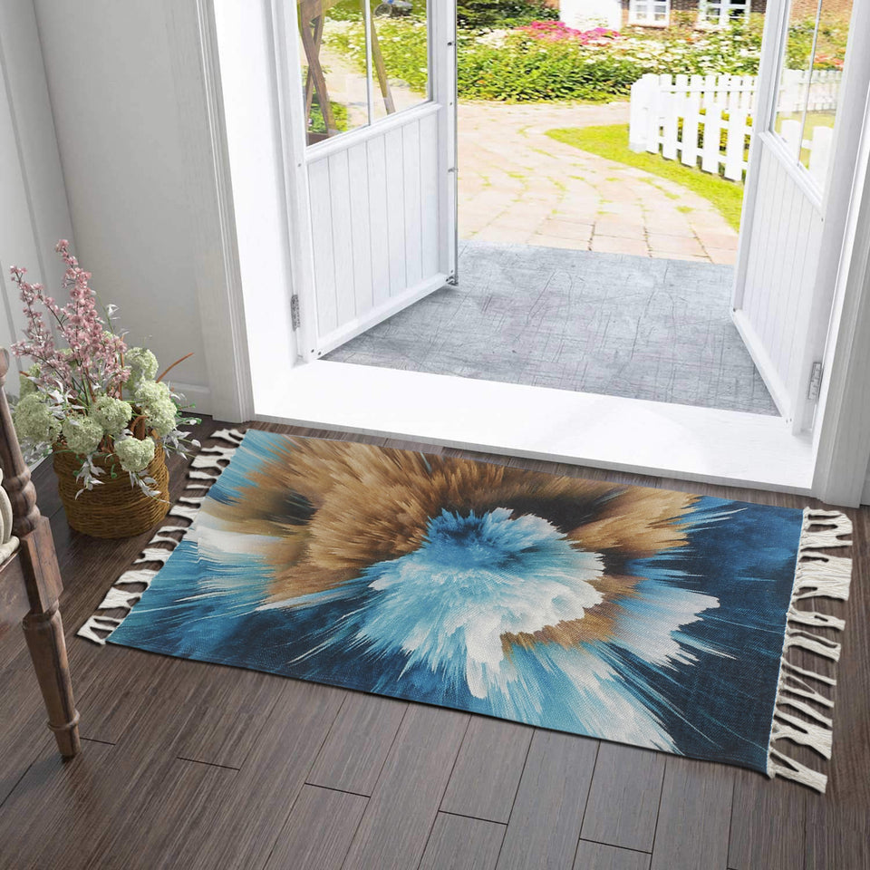 Bless International PET Home and Kitchen Rug Non Accent Area Carpet for Kids and Living Room,Home Decor