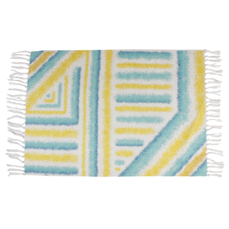 Interior Element Striped Home and Kitchen Rug