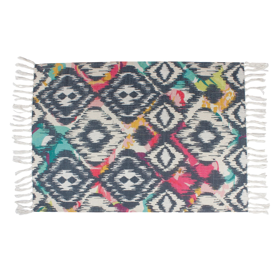 Ethnic Texture Turkish Ornament  Home and Kitchen Rug