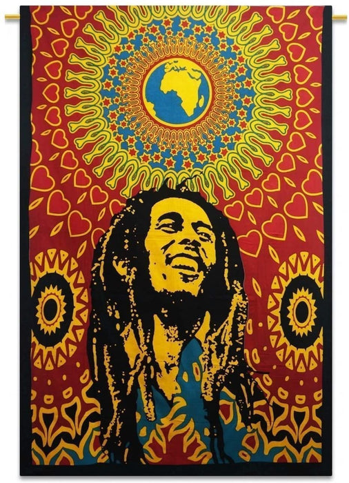 Bob Marley Tapestry Hippie Tapestry, Hippy Mandala Bohemian Tapestries,Tapestry Wall Hanging Ethnic Decorative