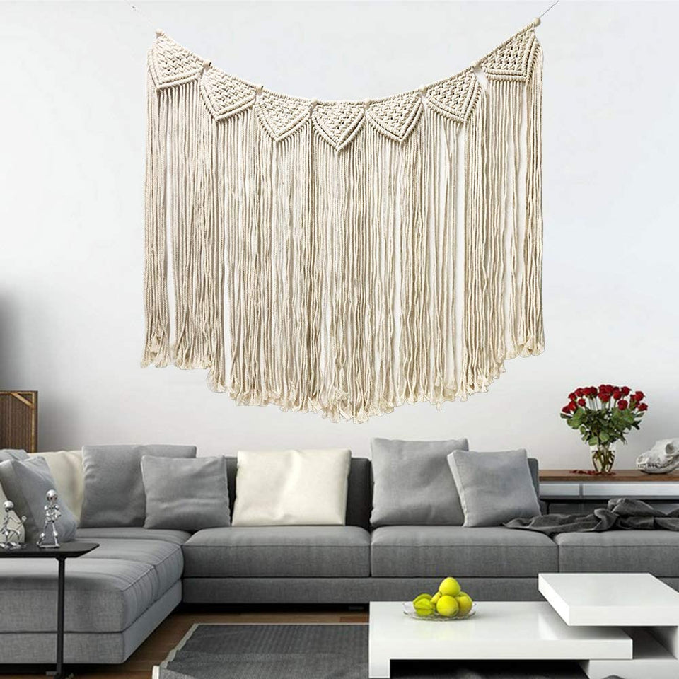 Macrame Wall Hanging, Large Woven Wall Hangings
