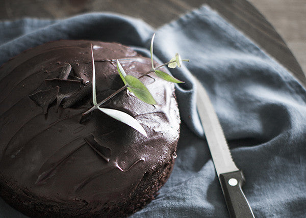 Love, Linen and Chocolate Cake