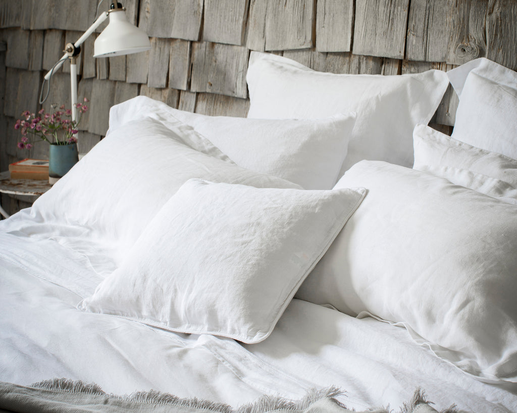 Pillowcase Housewife + Oxford + Oxford Square Classic White