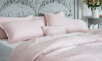Mireille Rose Bed Linen