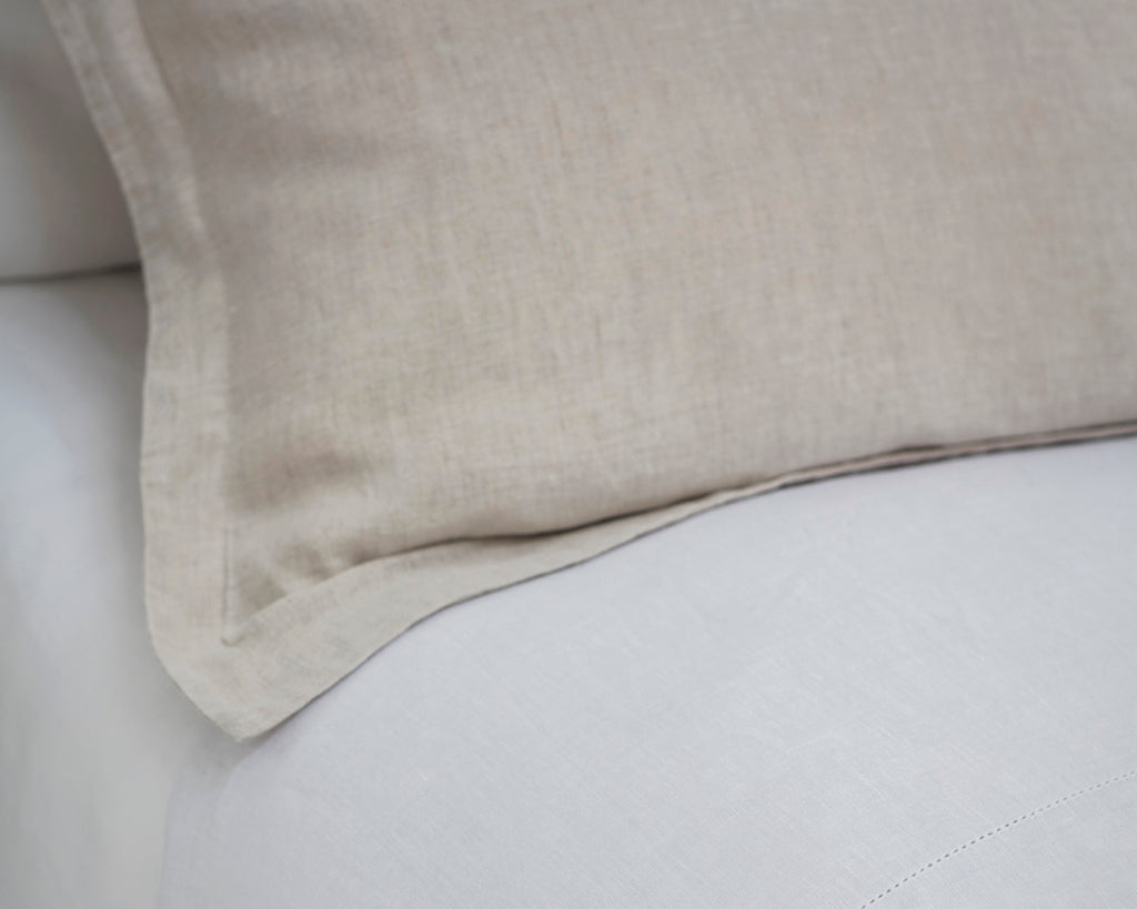 Pillowcase Oxford Picardie Ecru | Fitted Sheet Classic White