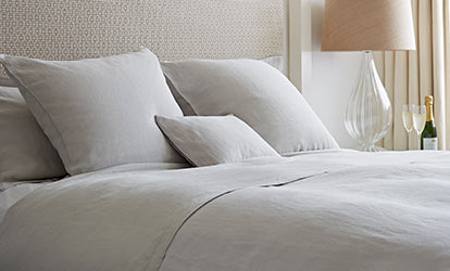 Cushion Pads on Bed