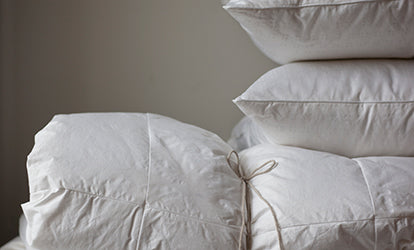 Feather Duvets and Pillows
