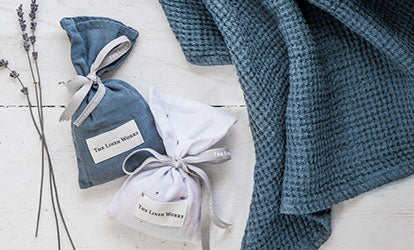 Waffle Towel and Lavender Bags
