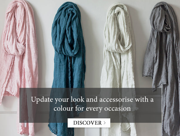 Linen Scarves Thick