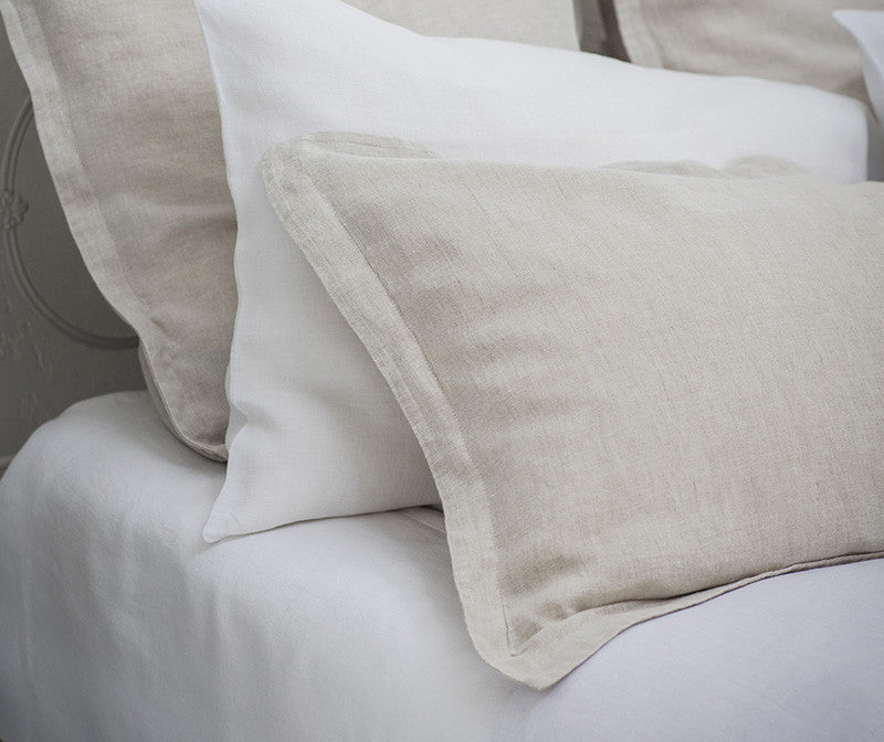 Pillowcase Oxford Picardie Ecru | Pillowcase Housewife Classic White | Fitted Sheet Classic White